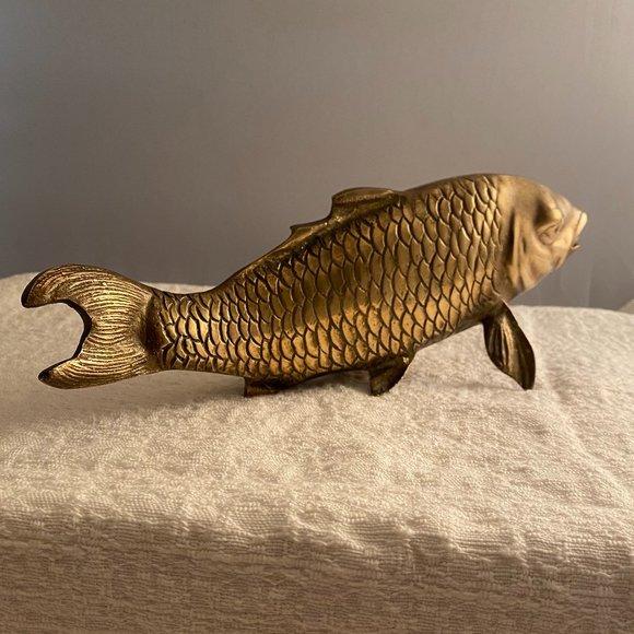 Brass Koi Carp Fish